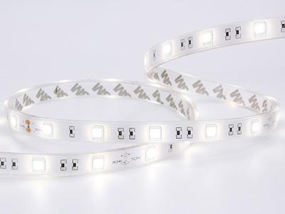 Warm witte LED strip, SMD5050, waterdicht IP68